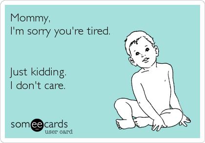 mommy, Im sorry